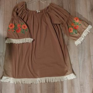 Umgee embroidered tunic
